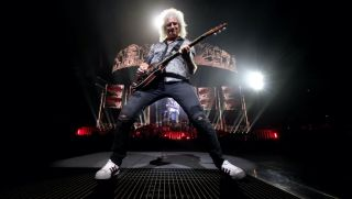Astrophysicist and iconic rocker Brian May.
