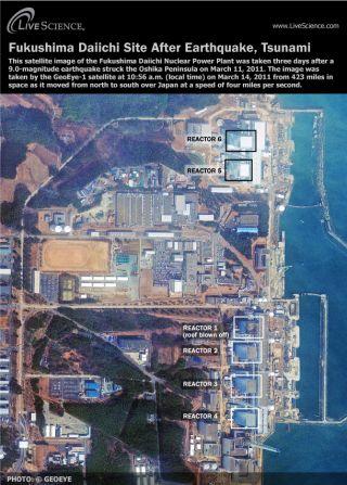 Fukushima Daiichi nuclear reactors