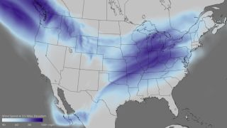 midwest split jet stream