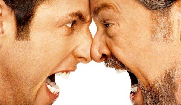 Anger Management Adam Sandler butts heads with Jack Nicholson