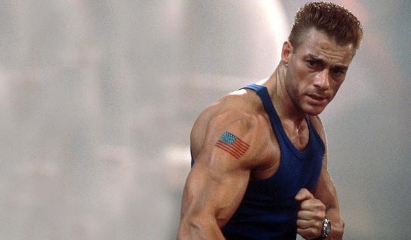Jean-Claude Van Damme Fist Raised Street Fighter
