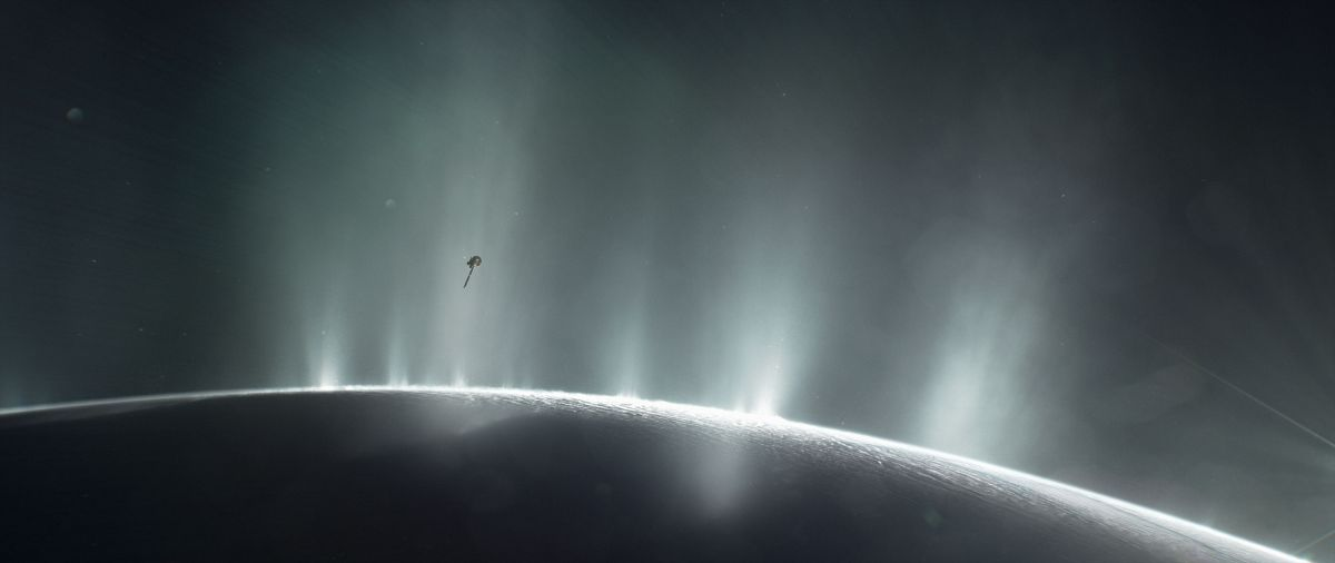 Saturn's Icy Moon Enceladus Is Likely the 'Perfect Age' to Harbor Life