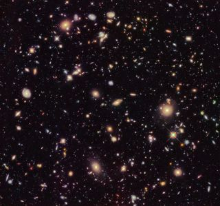 Hubble Ultra Deep Field from 2012