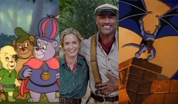 The Gummi Bears; Jungle Cruise; Gargoyles