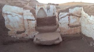 Archeologists recently discovered two ancient tombs in Egypt's western desert.