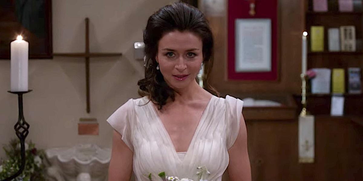 Grey's Anatomy Amelia Shepherd walks down the aisle at her wedding to Owen