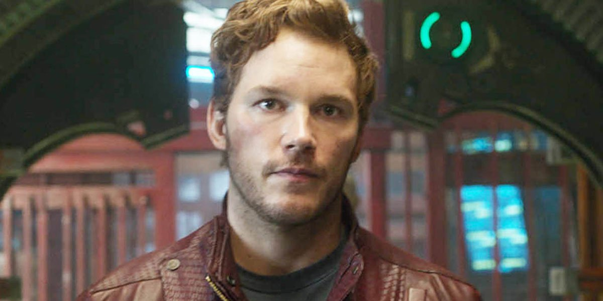 Chris Pratt As Star Lord In Guardians Of The Galaxy