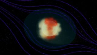 Animation Showing Heliotail Solar Winds