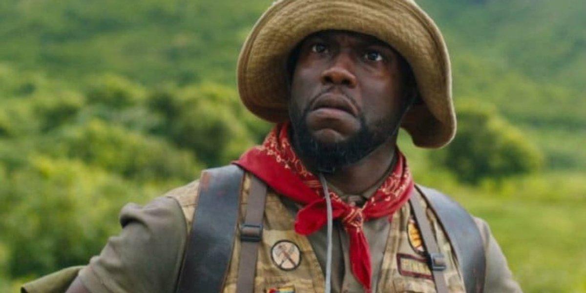 Kevin Hart in Jumanji: Welcome to the Jungle