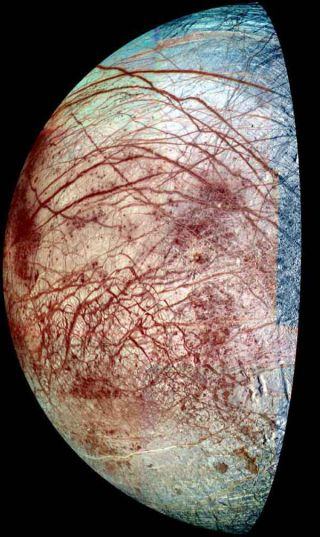 Europa's Frigid Surface Could Be a Hot Spot of Chemistry