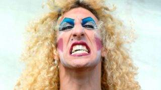A photograph of Dee Snider in full make up