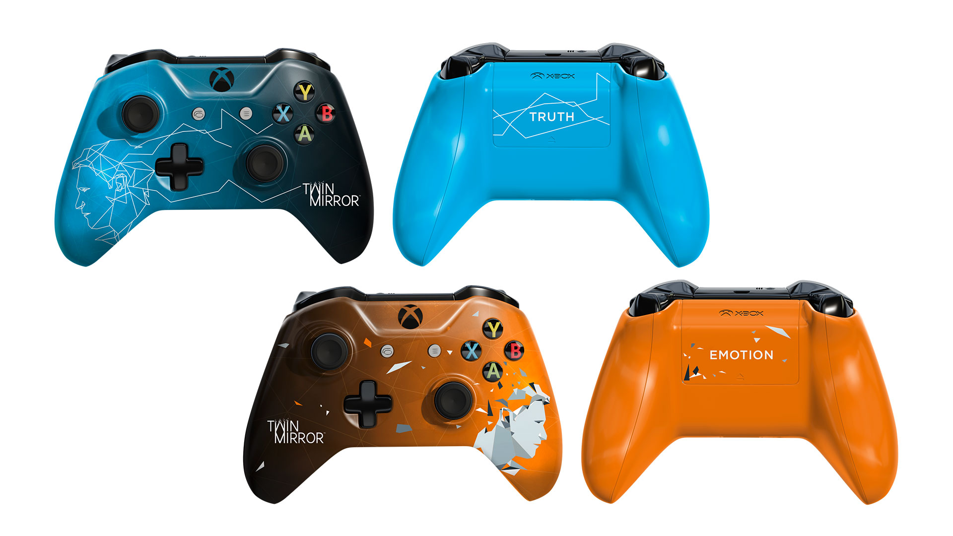 Win a pair of custom Twin Mirror Xbox controllers by entering our Twitter competition