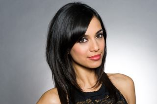 """FIONA WADE (Priya)<br>""""I watched Emmerdale for years before I came into it. My mum was a big fan. All of a sudden I'm involved in a storyline with Cain and then a romance with David. So it's been a lot of fun!"""""""