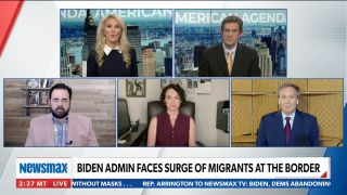 A segment on immigration airs on Newsmax's 'American Agenda'