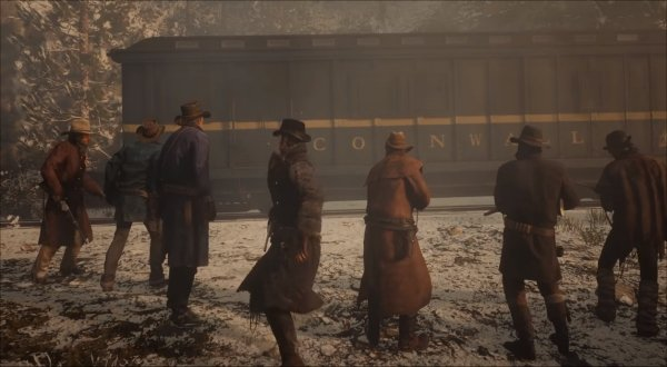 Red Dead Redemption 2 - Train Robberies