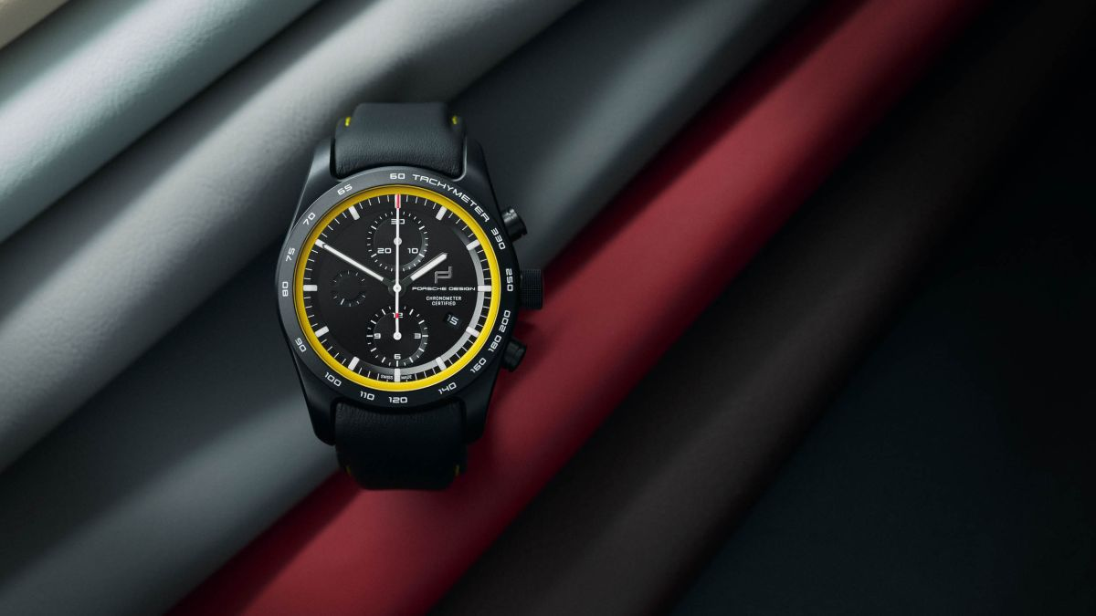 Porsche Design lets you design a custom watch, to match your Porsche 911