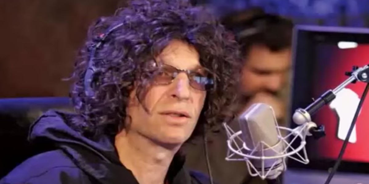 Howard Stern on The Howard Stern Show