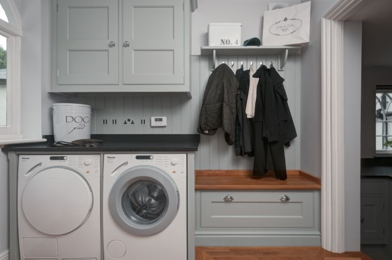 Top Loader Laundry Room Layout