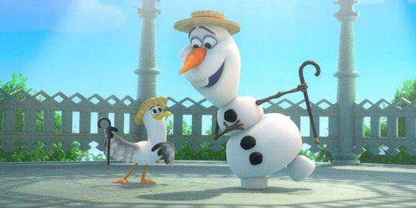 "Frozen ""In Summer"" screenshot"