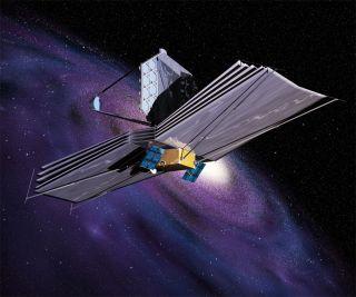 James Webb Space Telescope Galaxy