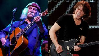 David Crosby has apologized for Eddie Van Halen remarks