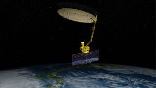 NASA's Soil Moisture Active Passive satellite