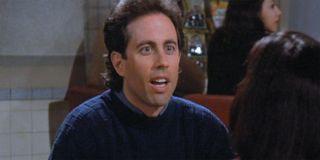 Jerry Seinfeld with Janeane Garofalo on seinfeld
