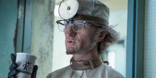 Olaf as a doctor in Season 2
