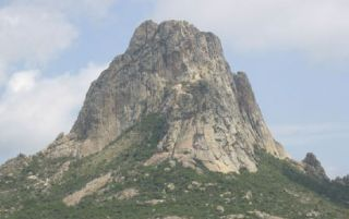 Pena de Bernal Monolith in Mexico