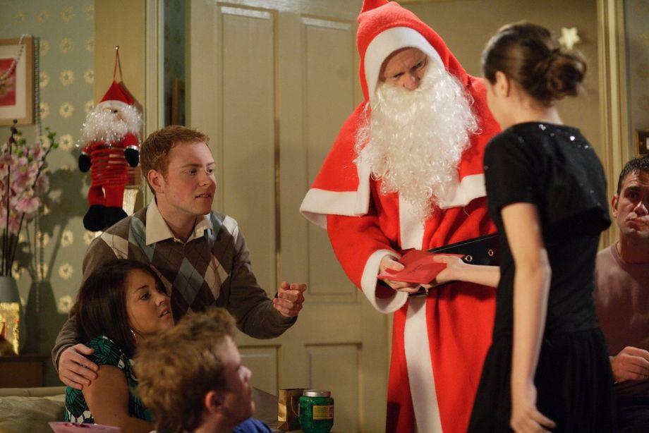 Max Branning as Santa