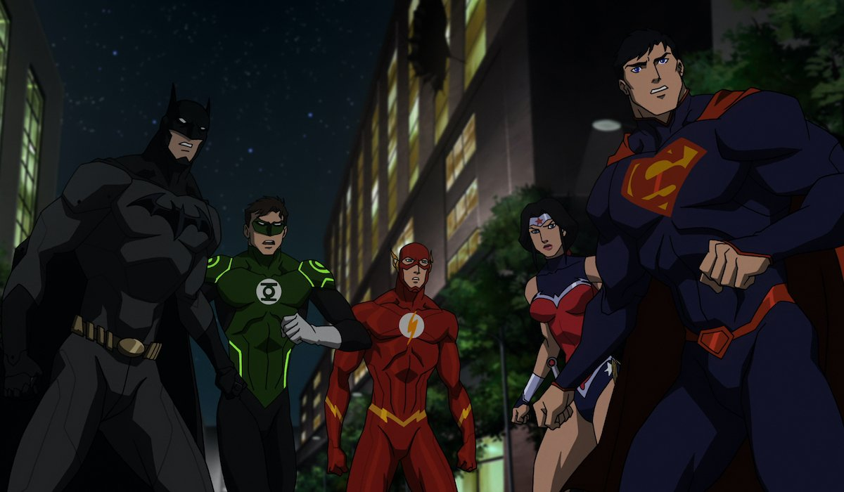 The Dc Animated Movie Universe Timeline Explained Cinemablend