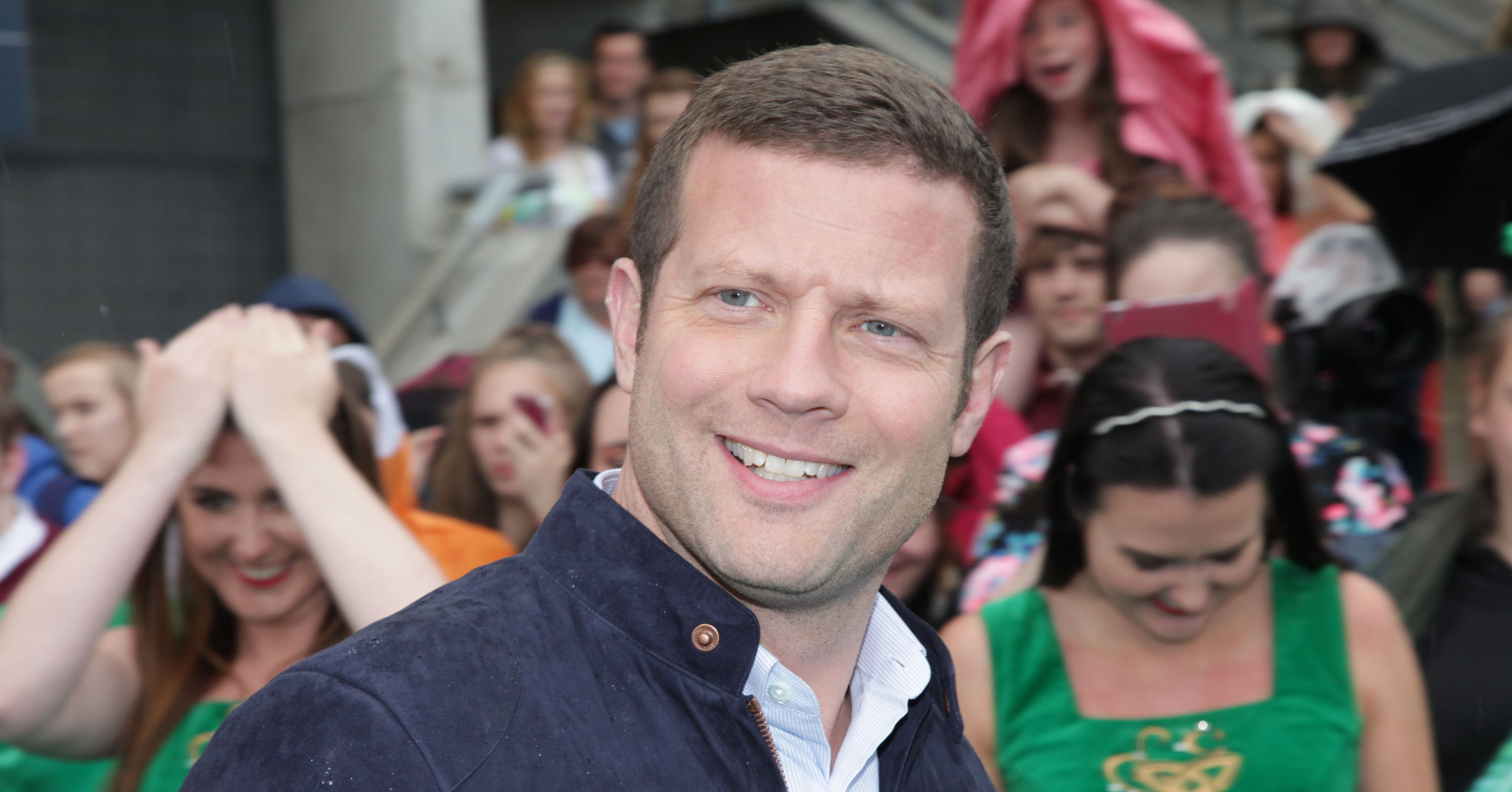 Dermot O'Leary in Dublin for 2016 auditions of The X Factor