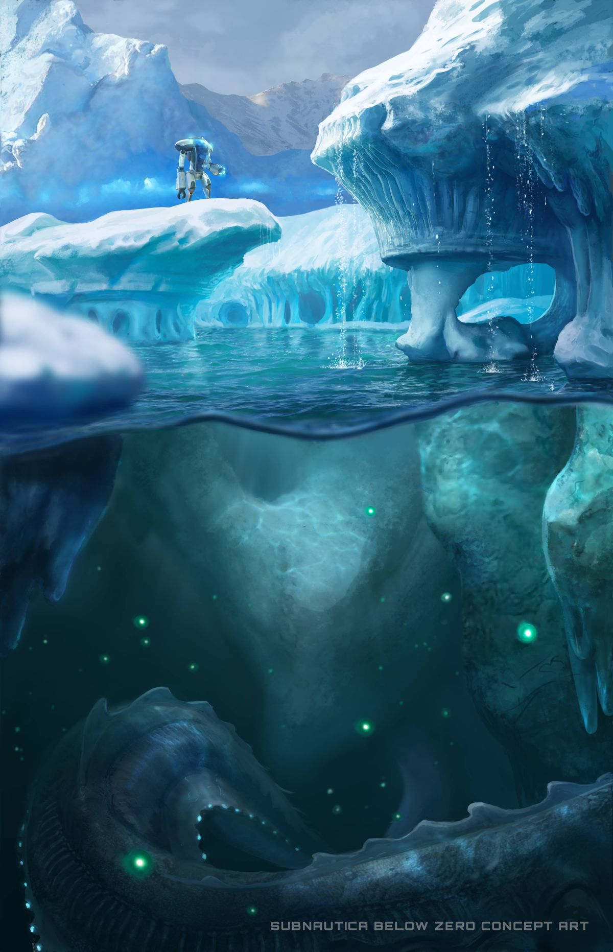 Subnautica: Below Zero returns to the sea for a brand-new