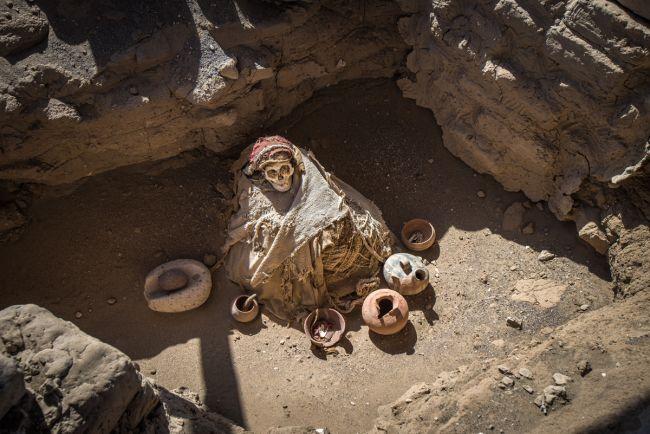Nazca human sacrifice.