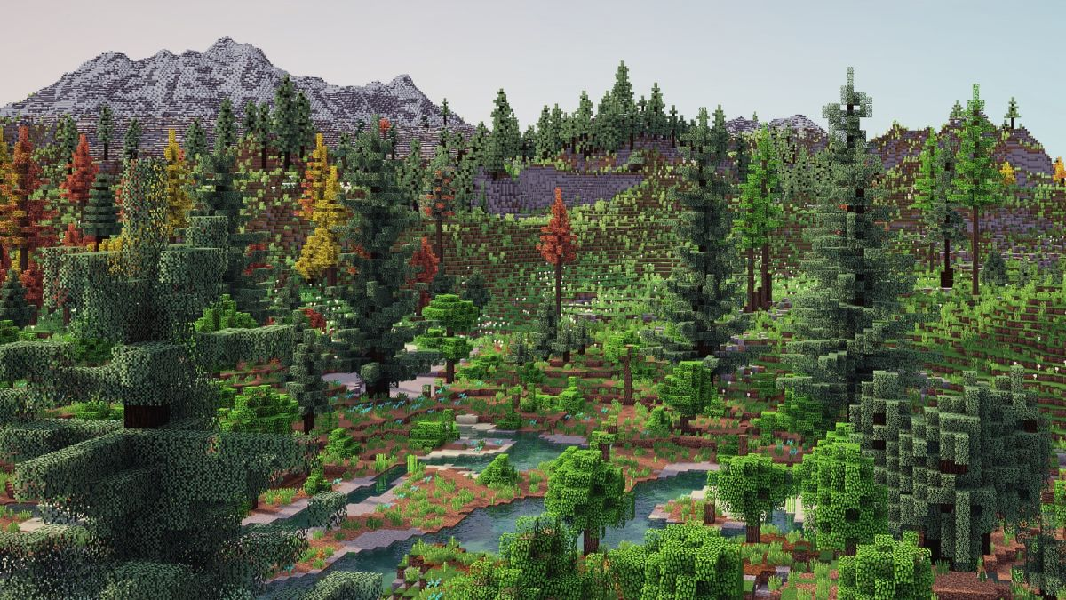 Minecraft player spends a year revamping terrain generation, results look beautiful