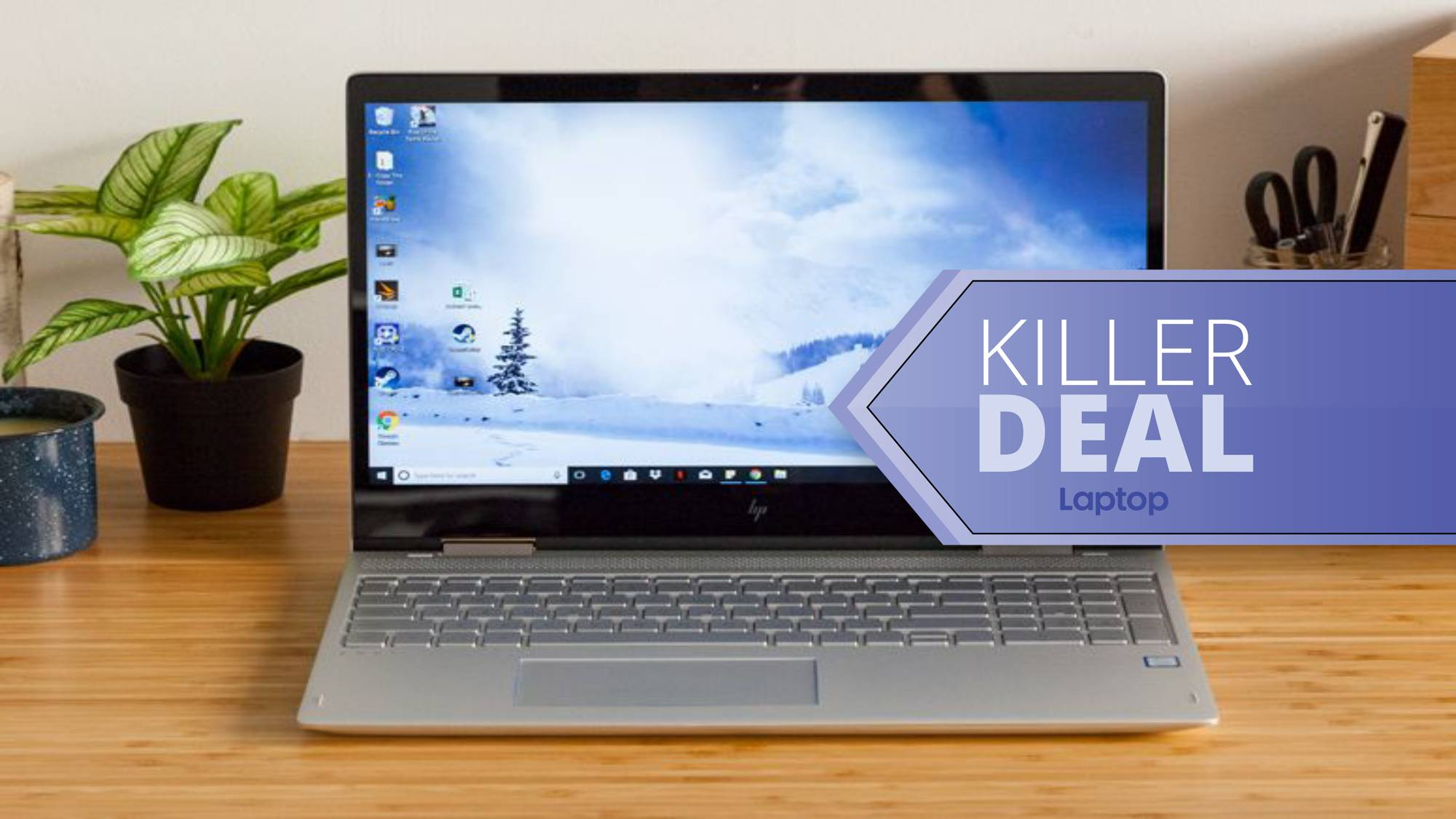 Take 100 Off The Hp Envy X360 With 10th Gen Core I7 Laptop Mag