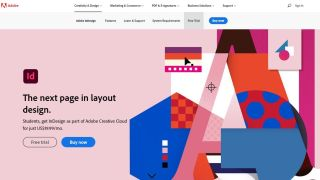 Adobe Indesign网站
