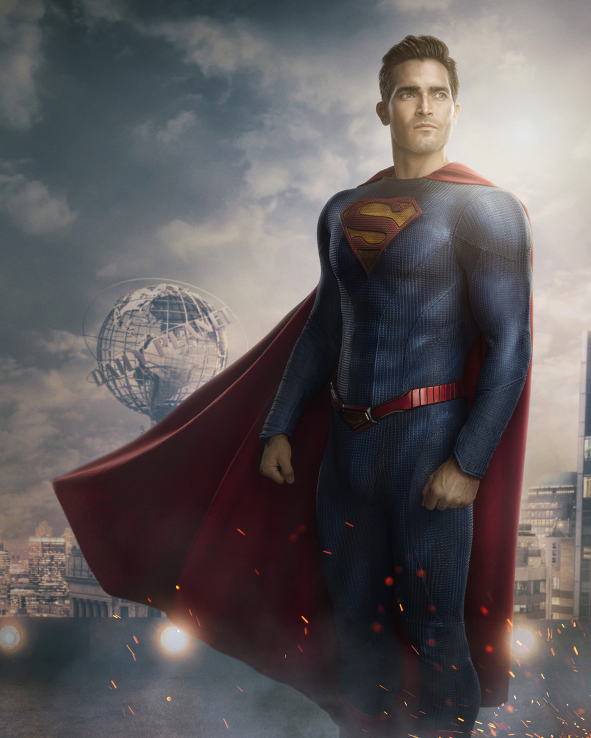 superman and lois new suit tyler hoechlin the cw