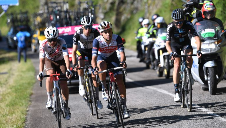 Stage 12 breakaway at the Giro d'Italia