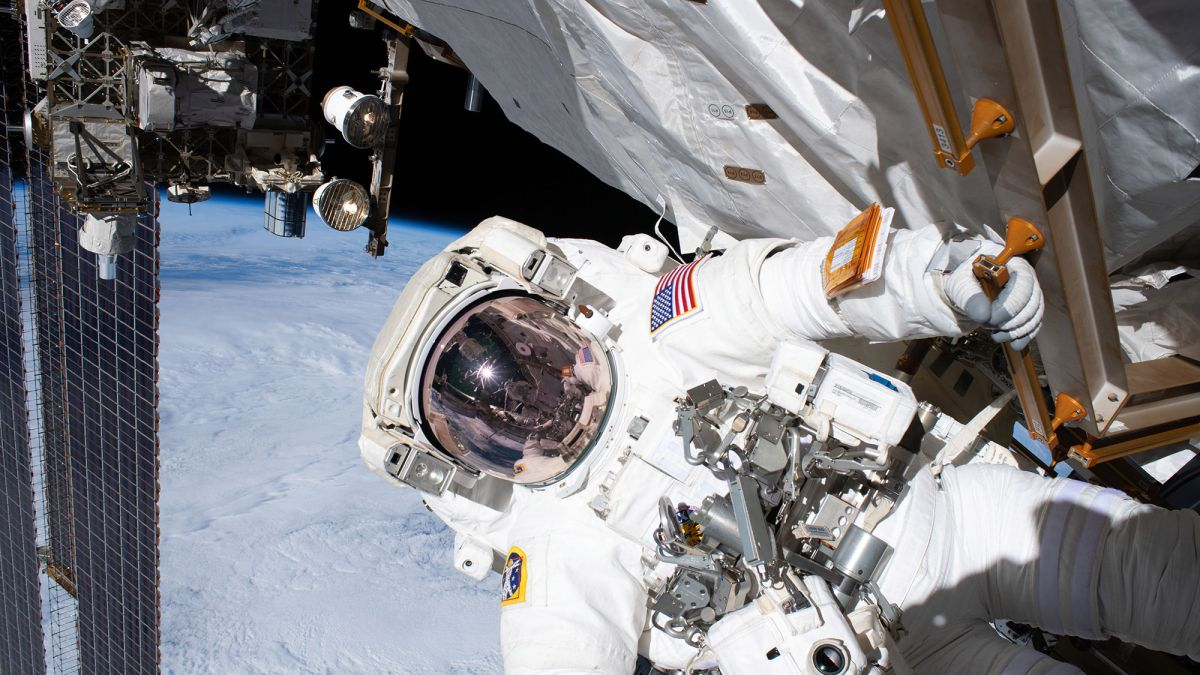 You can watch two astronauts take a spacewalk to fix a $2 billion space experiment today. Here's how. - Space.com