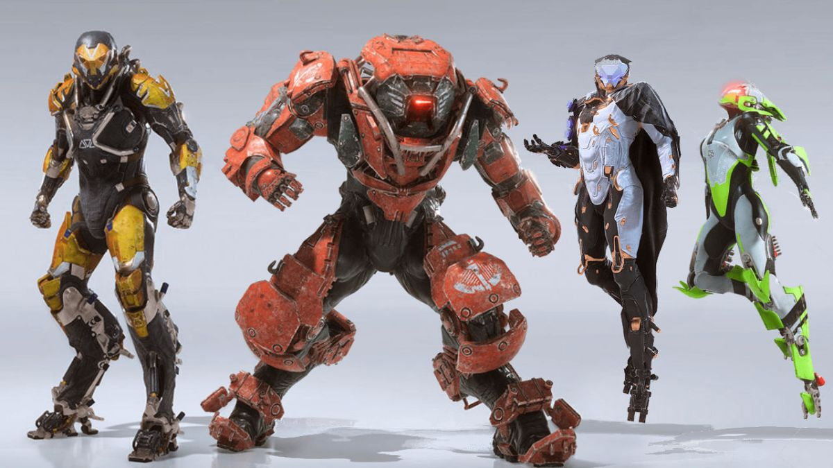 Anthem S Game Director Breaks Down What All Four Javelins Are About Including The Speedy Gadgeteer Interceptor Gamesradar