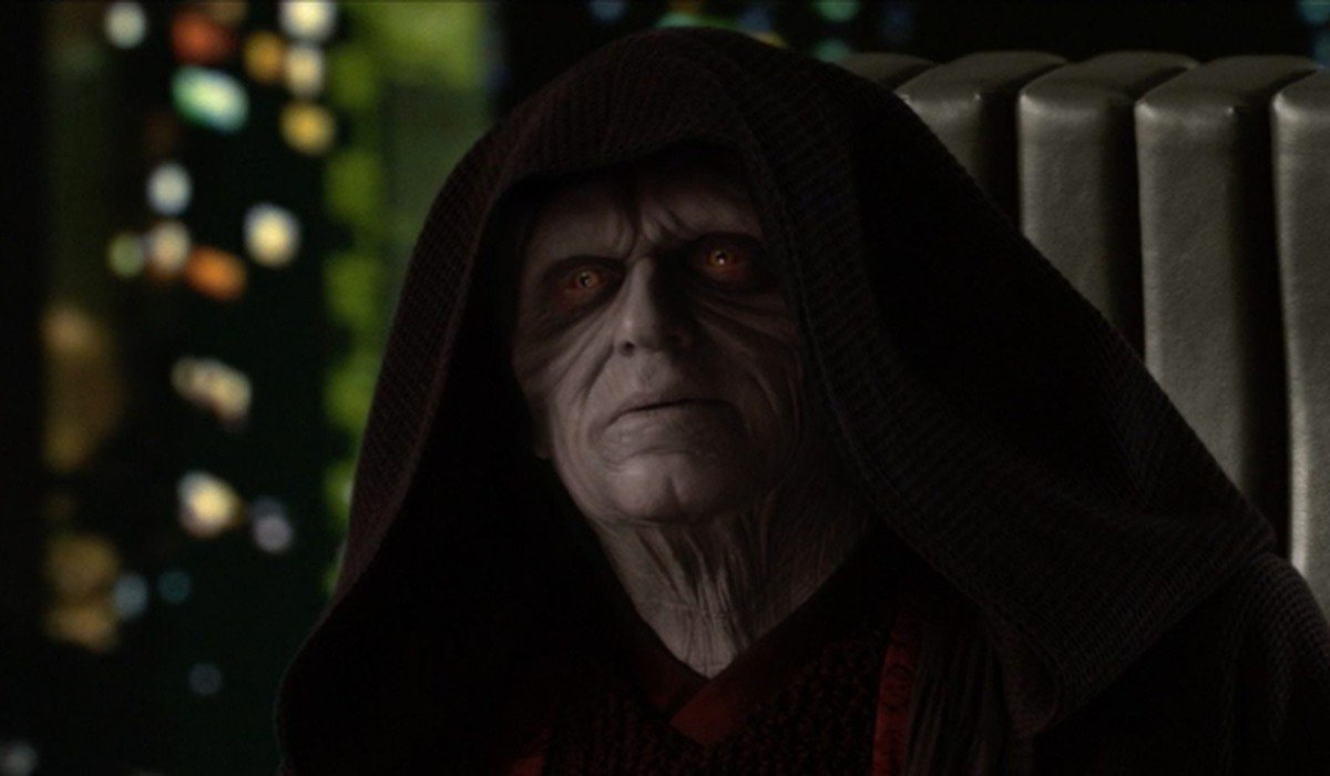 Darth Sidious in Revenge of the Sith