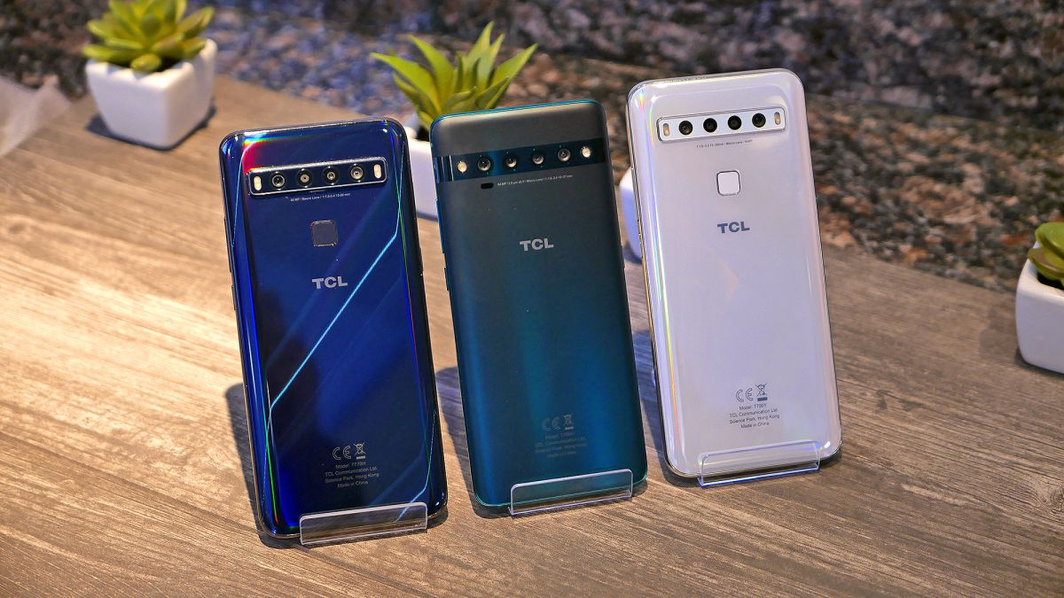 TCL 10 hands-on: A new 5G smartphone challenger approaches