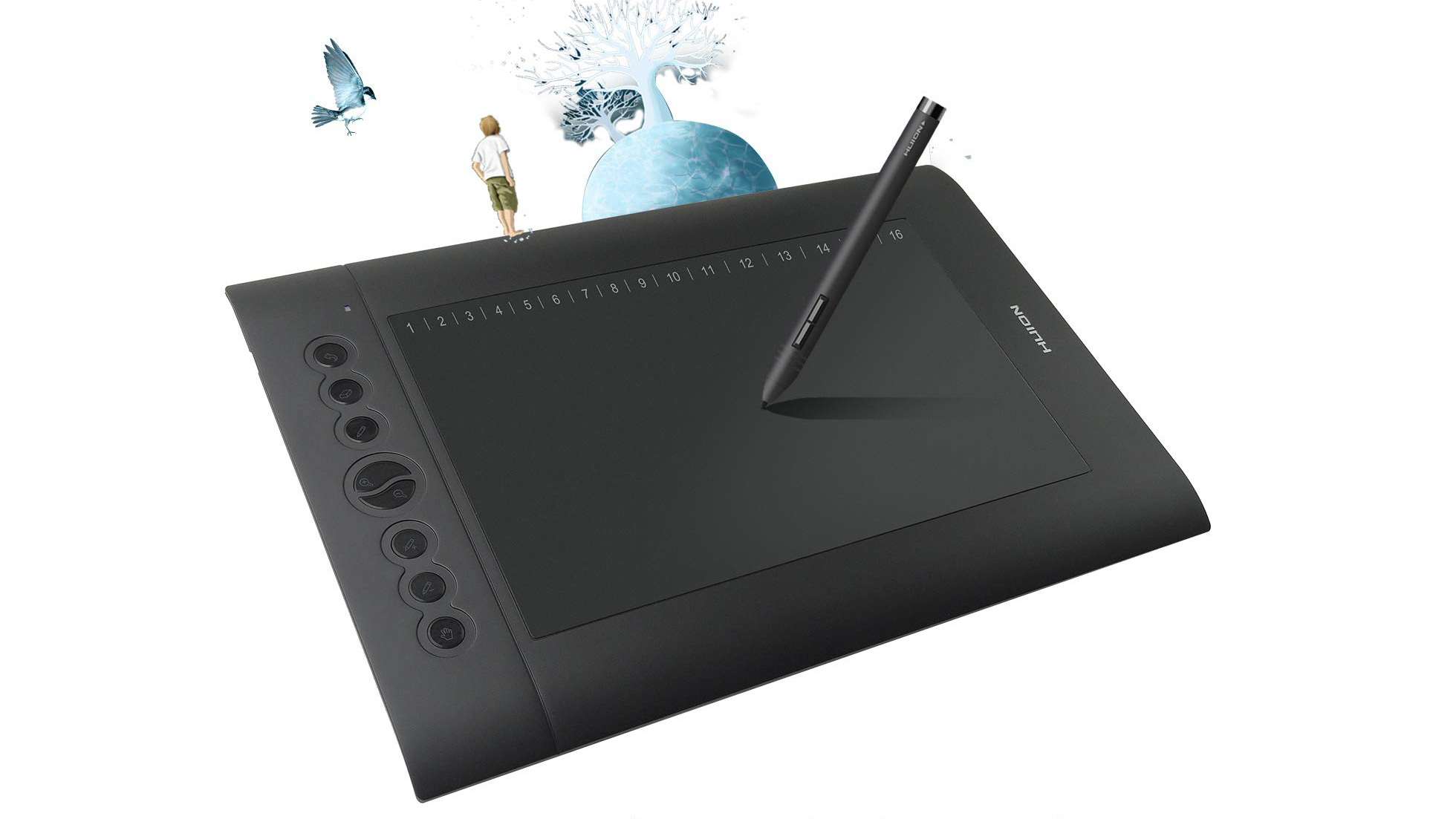 Grab this top-rated Huion graphics tablet for less than $60 | Creative Bloq