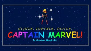 Captain Marvel website