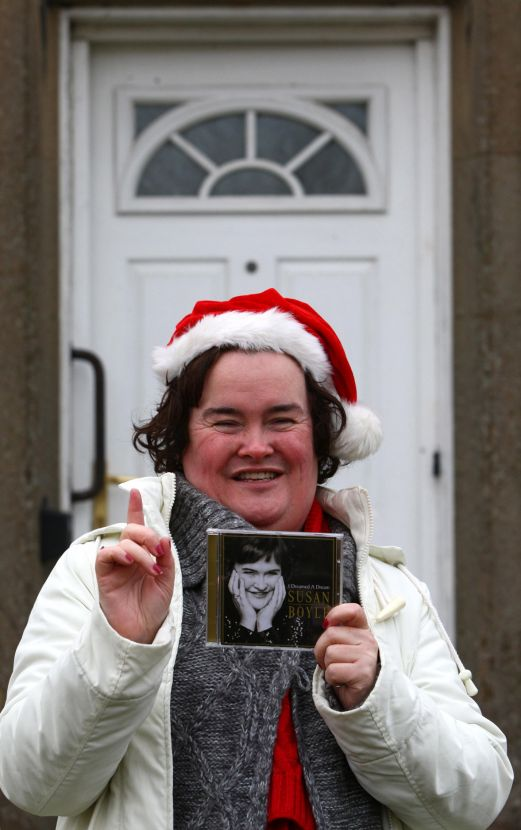 Susan Boyle to spend New Year in Japan!