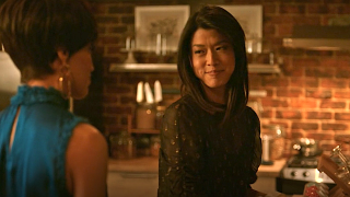 Screenshot of Katherine talking to Shanice on A Million Little Things
