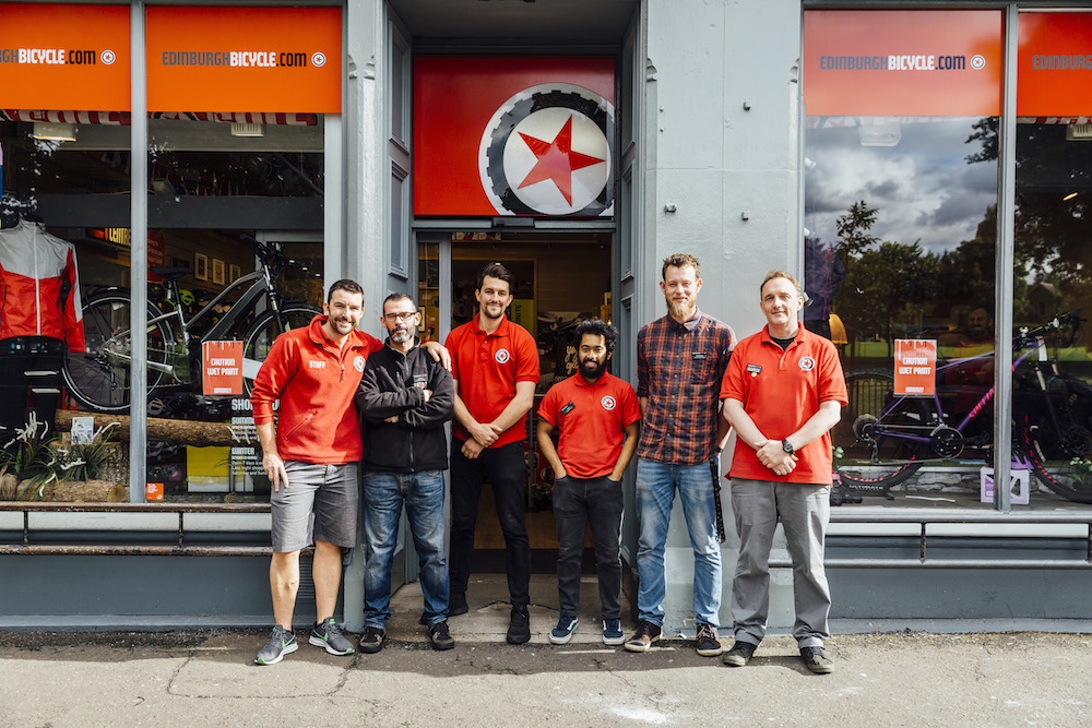 Britains Best Bike Shop 2017: ediburgh bicycle cooperative