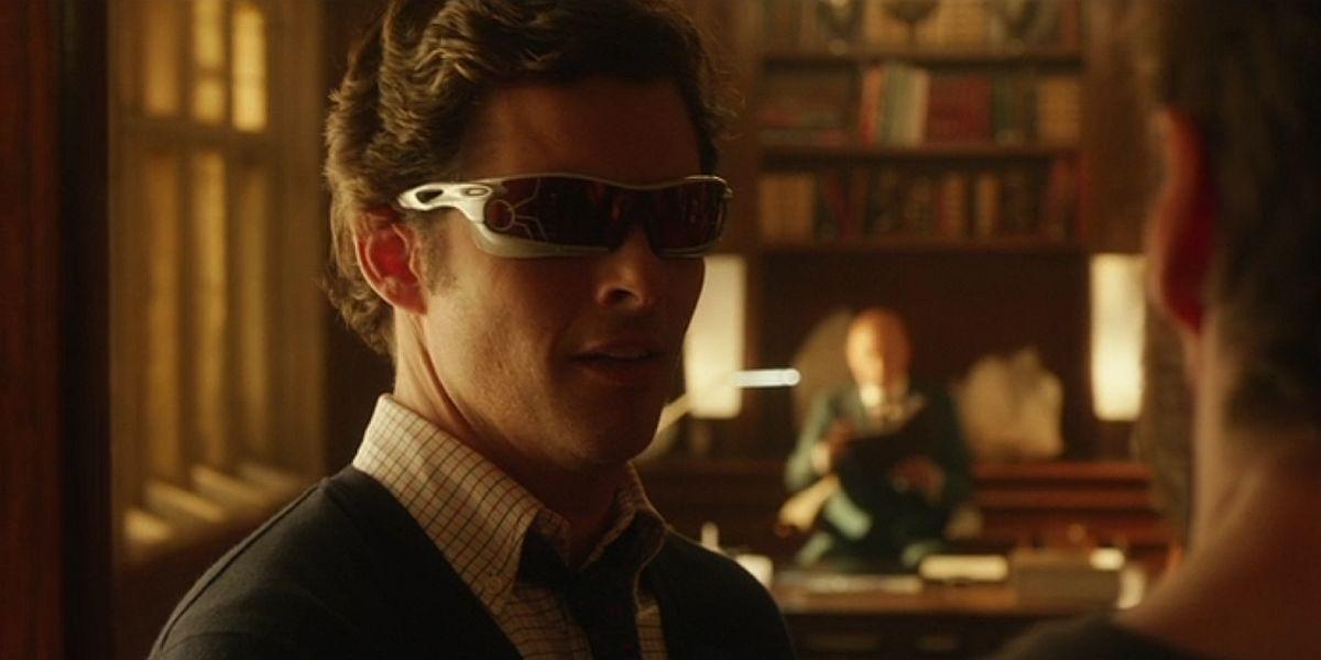 James marsden as Cyclops in X-Men: Days of Future Past