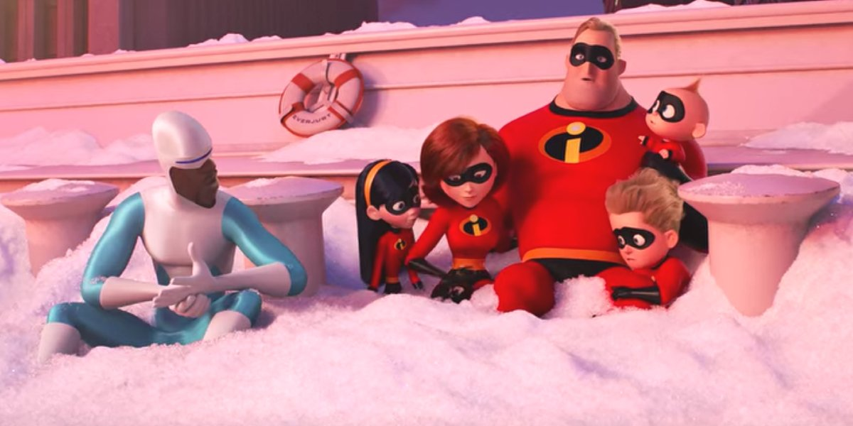 The cast of The Incredibles 2